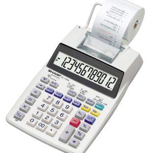 Sharp EL-1750V Printing Calculator