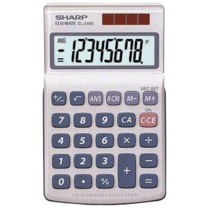 Sharp EL-240S Pocket Calculator