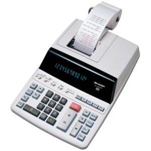Sharp EL-2607PGY Printing Calculator
