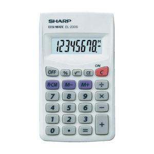 Sharp EL-233 Pocket Calculator