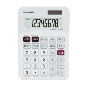 Sharp EL-330F Pocket Calculator